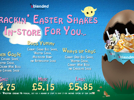 Crackin Easter Shakes...