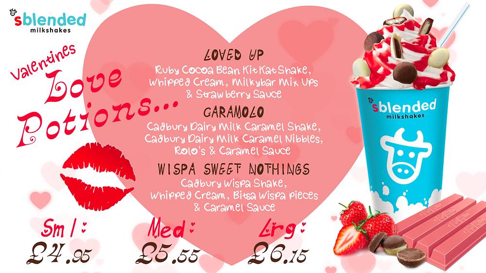Sblended Valentines Promotion