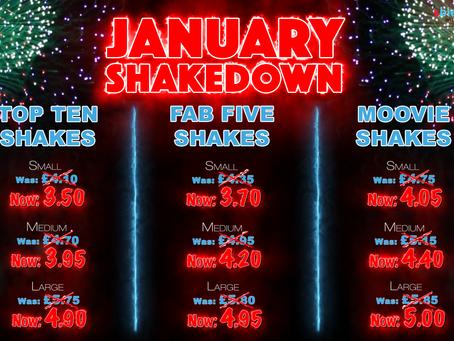 January Shakedown......