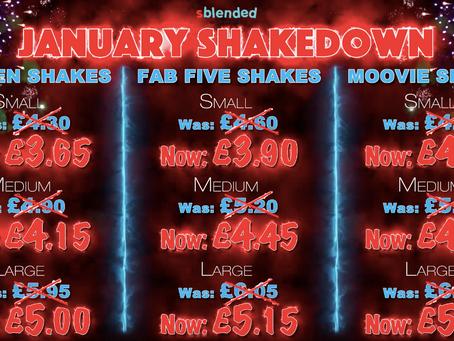 January Shakedown...