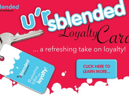 """""""u'r sblended"""" Loyalty Card..."""