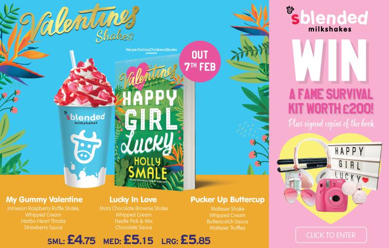 Sblended Milkshakes Valentines Promotion 2019