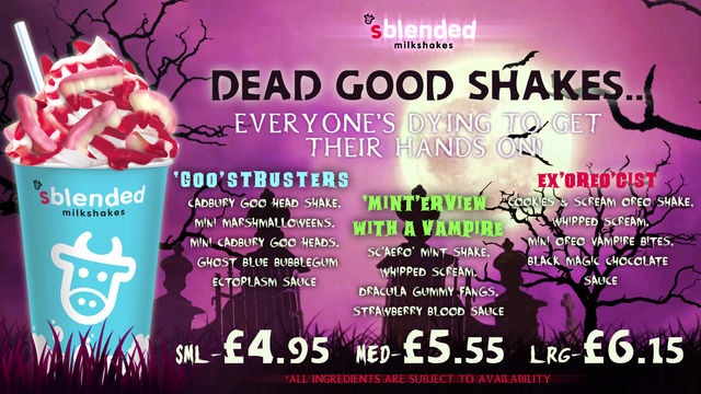 Dead good shakes, everyone's dying to get their hands on...