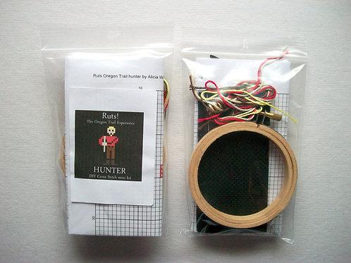 Hunter: Ruts! DIY Cross Stitch Mini Kit