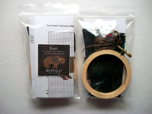 Buffalo(Alive or Dead): Ruts! DIY CrossStitch Mini