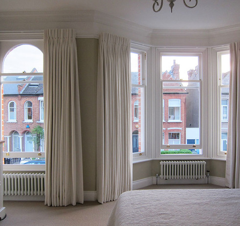 Double-pleat-interlined-curtains-in-Clar