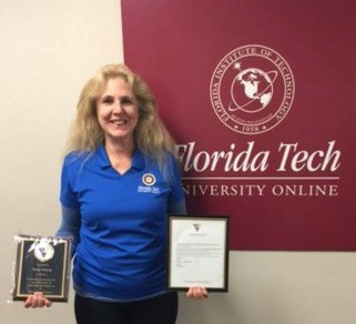 Vicky honored for her dedication to TOG