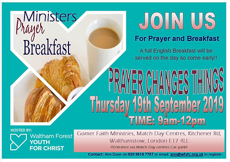 Ministers' Prayer Breakfast
