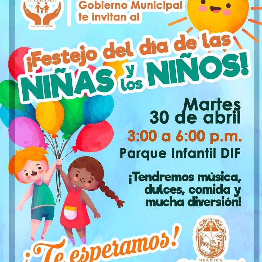 FESTEJO DEL DÍA DE LAS NIÑAS Y LOS NIÑOS