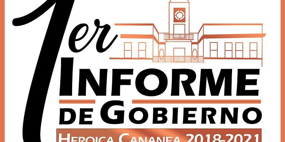 INFORME DE GOBIERNO 15 DE SEPTIEMBRE 2019