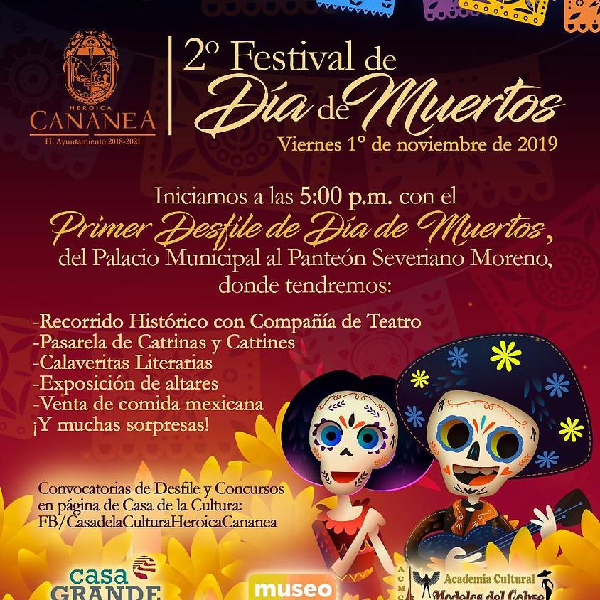 2do Festival de Día de Muertos
