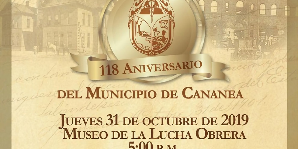 118 Aniversario de Cananea