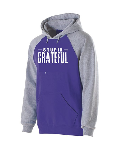 Stupid Grateful - UNISEX 2 Color Hoodie