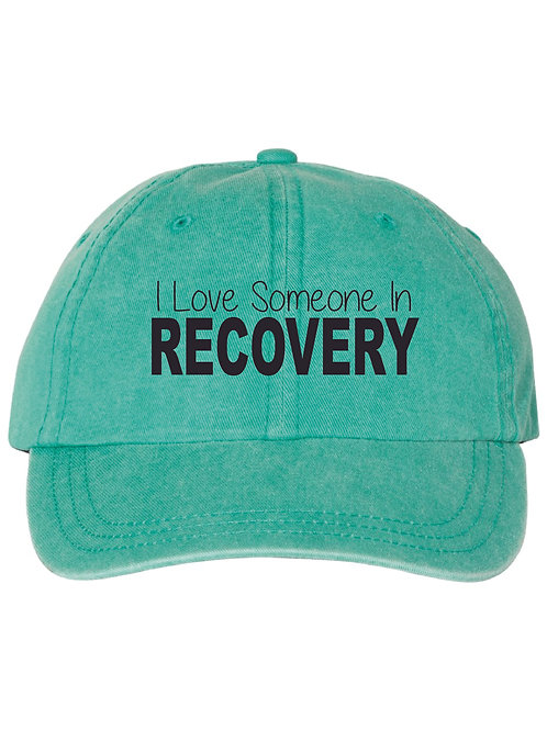 I Love Someone In Recovery Hat