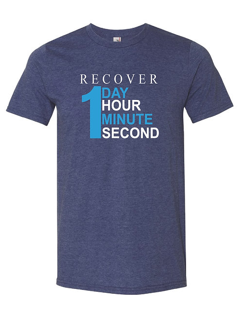 Recover 1- UNISEX Cotton Poly Blend T-Shirt