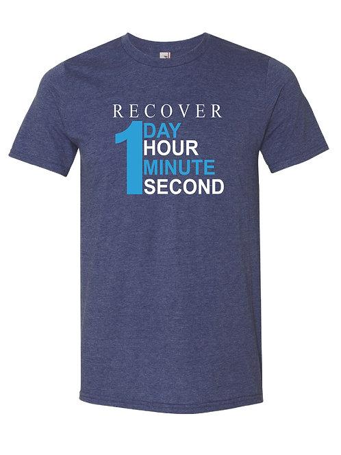 Recover 1- UNISEX Cotton Poly Blend T-Shirt