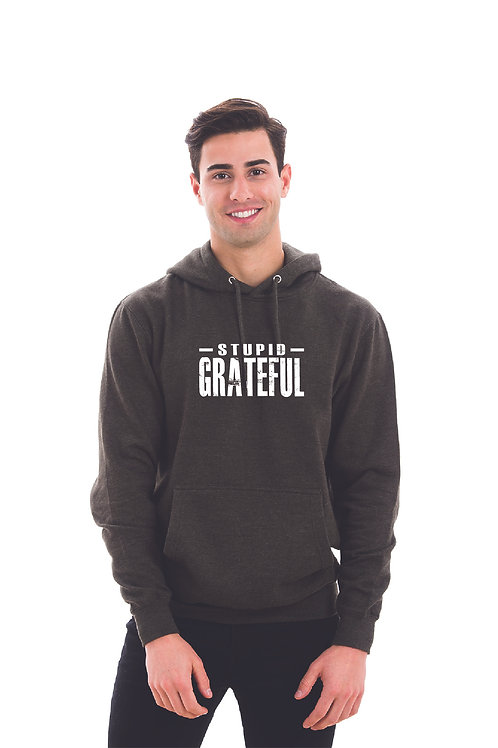 Stupid Grateful - UNISEX Solid Hoodie