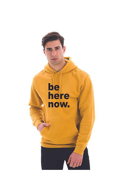 Be Here Now - UNISEX Solid Hoodie