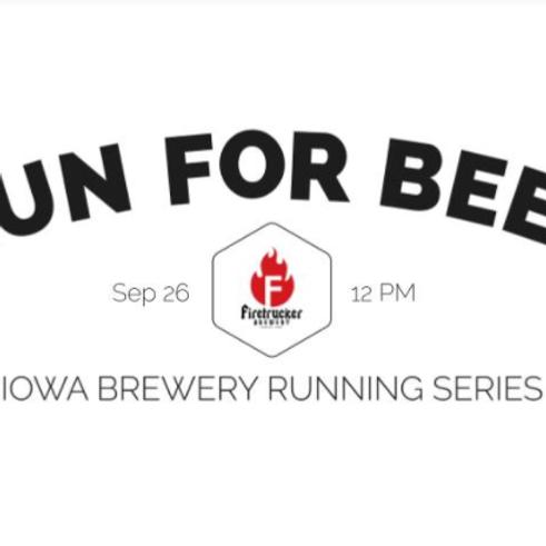 Beer Run - Firetrucker | 2021 Iowa Brewery Running Series