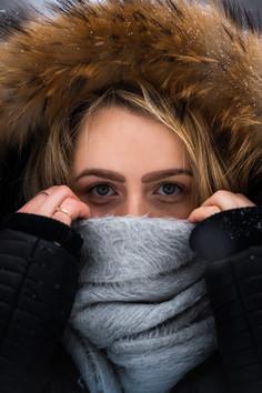 Le froid de l'hiver.