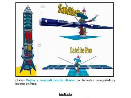 """Proyecto presentado al concurso Moon Camp Challenge por el equipo de Jasones """"Leones""""."""