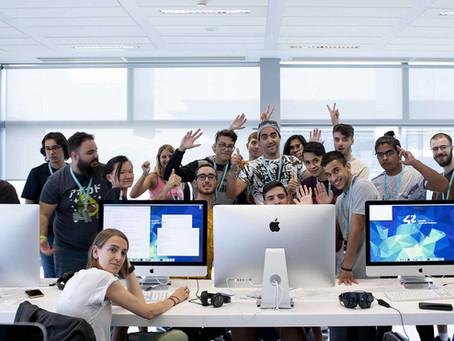 Así se forman los programadores del futuro