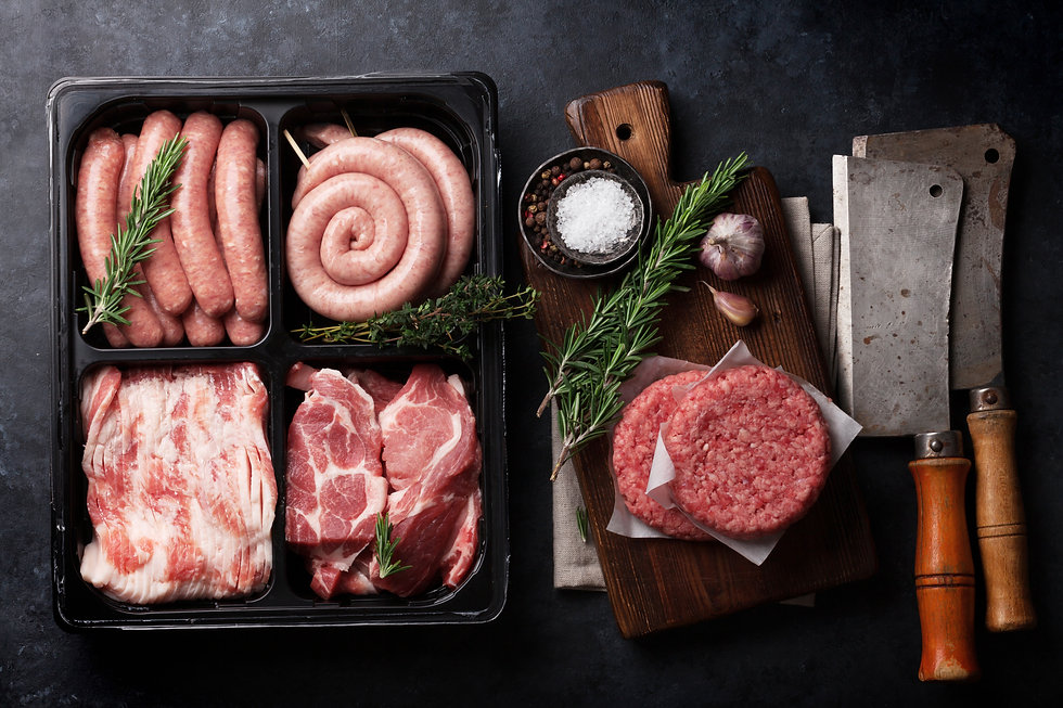 Selection of Free Range Meat