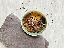 Roh-Kakao-Datteln Porridge