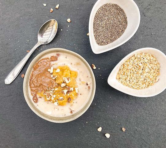 Süsskartoffel-Chia-Porridge