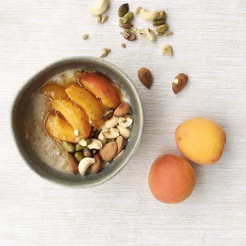 Aprikosen-Porridge