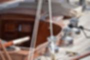 Segelboot Deck