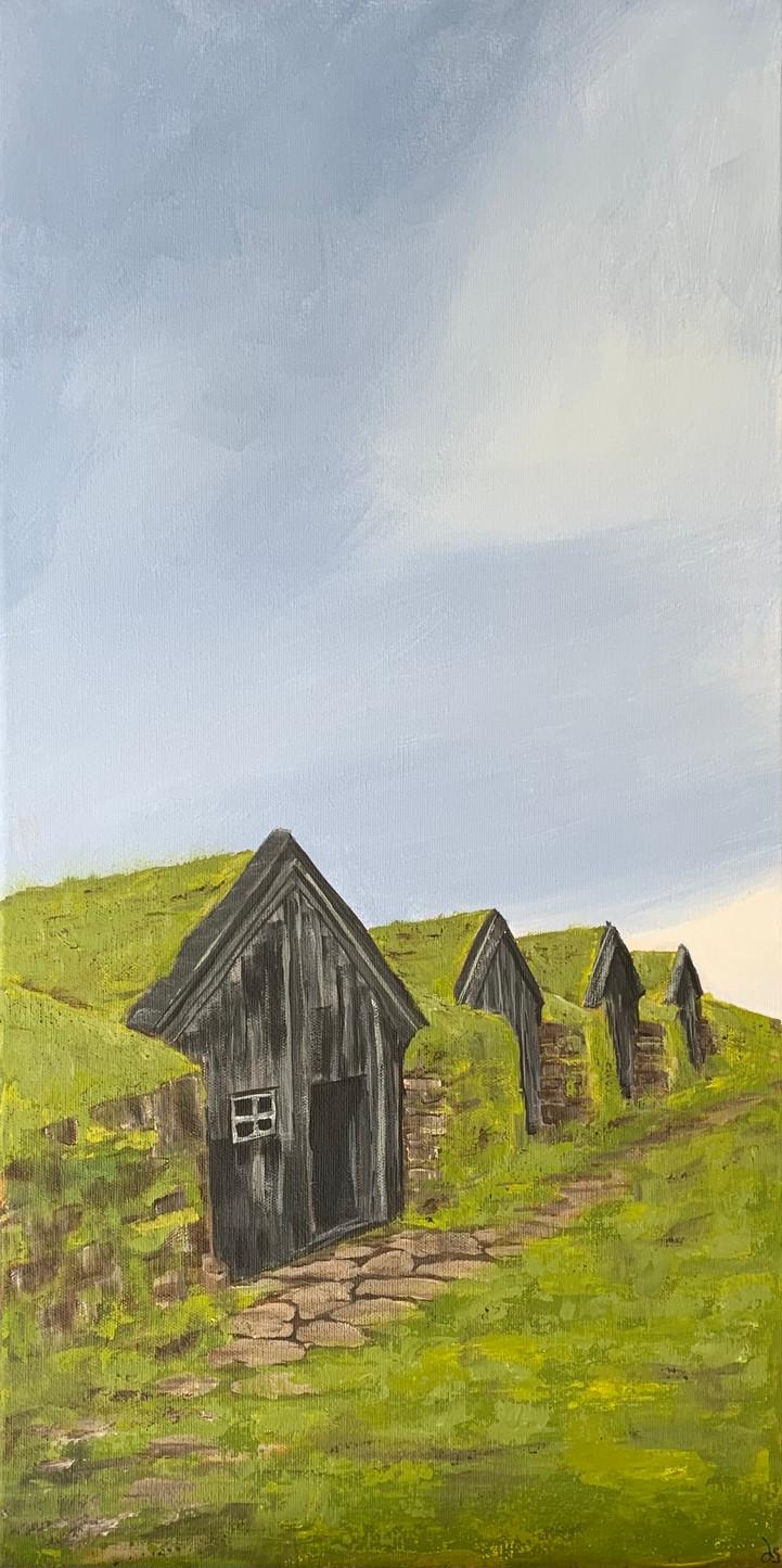 Irish Huts