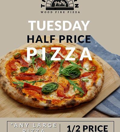 HALF PRICE PIZZA TUESDAY A3 - APR 2021 (