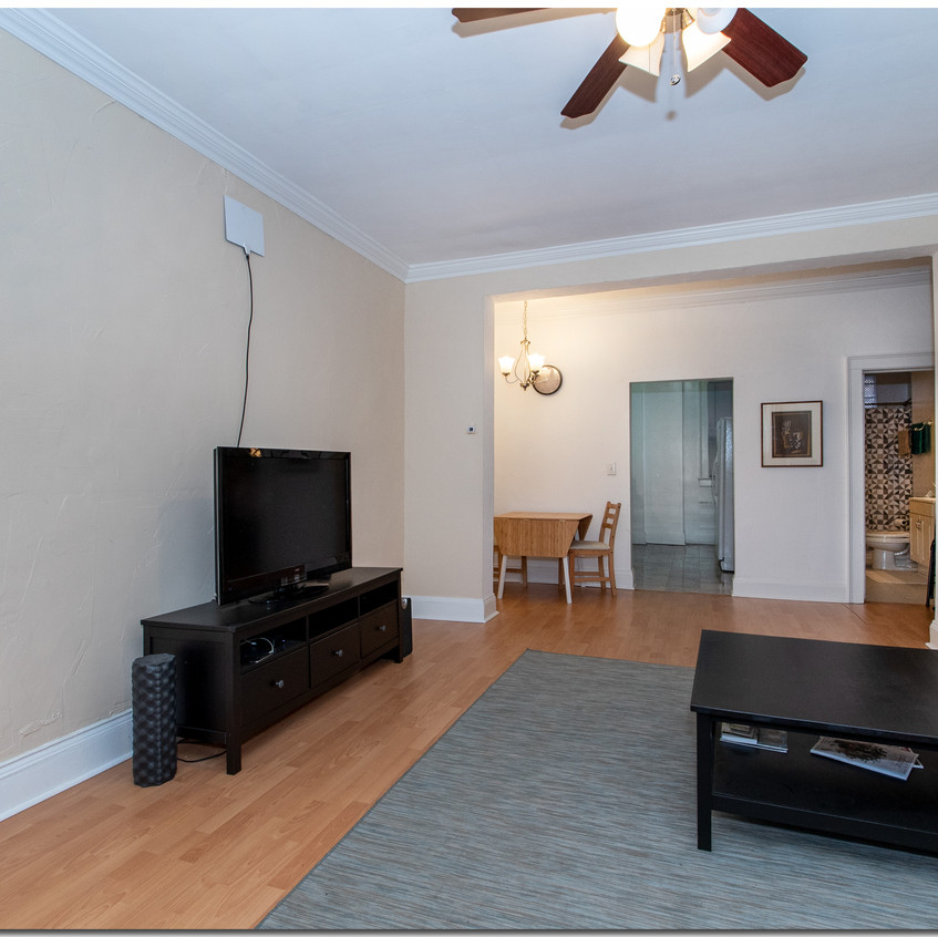 Living Room - Dining Room View