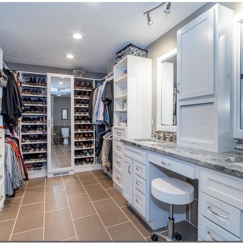 Master Bathroom + Closet System