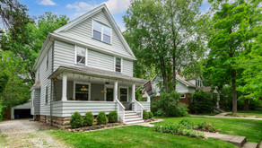 SOLD!! Wonderful front porch colonial!! 3837 Parkdale Road, Cleveland Heights, OH