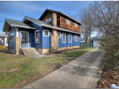 SOLD. Charming & Irresistible Craftsman Style Home - 2533 Kingston Road, Cleveland Heights