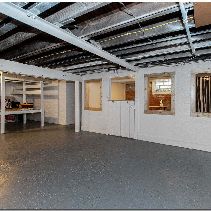 basement open space