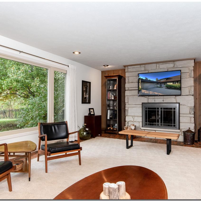Living Room , Window View