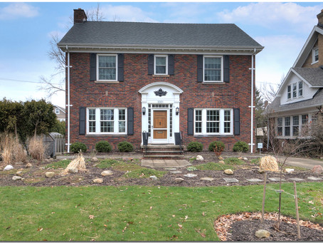 SOLD! Gleaming woodwork, quality construction makes this brick colonial a gem -- 3001 Washington