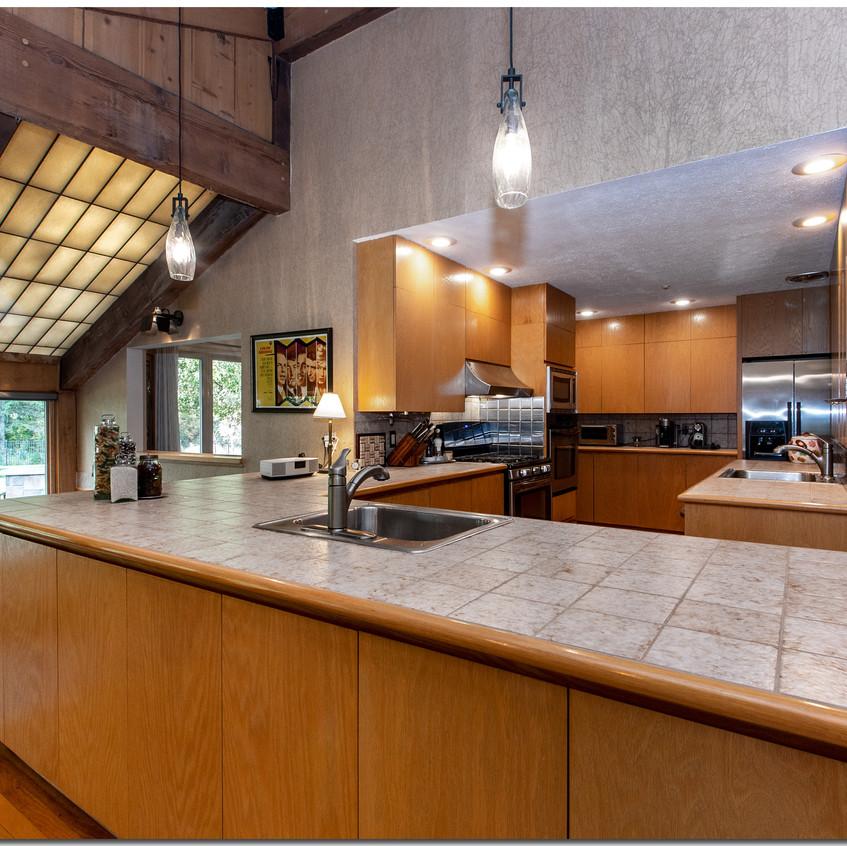 Kitchen + Eating Area