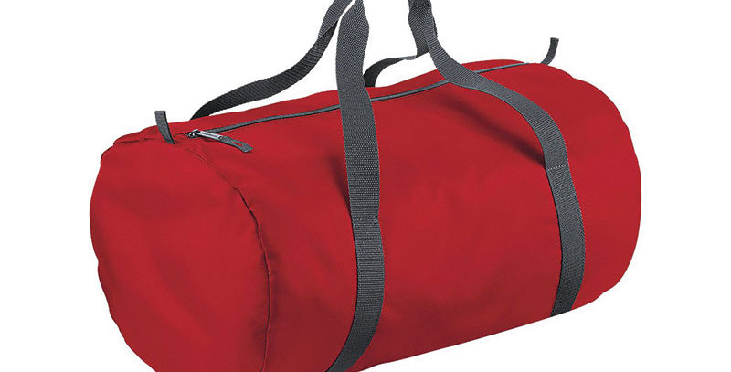Packaway Barrel Duffel Water Resistant Bag
