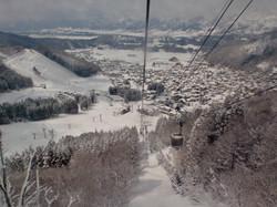 Nozawa Onsen chairlift