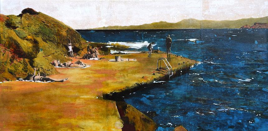 Ayline Olukman - Rock beach
