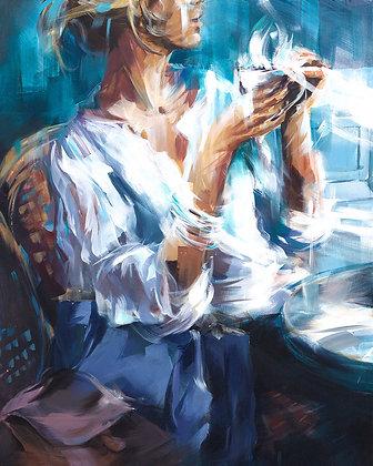Murielle Vanhove, Café bleu