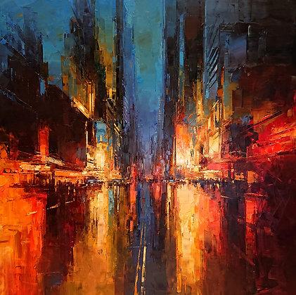 Benoit Havard - New York, Time Square District