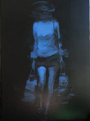 Xavier Jambon, La marcheuse bleue
