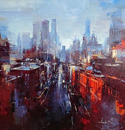 Benoit Havard, Manhattan Sud, sur les toits