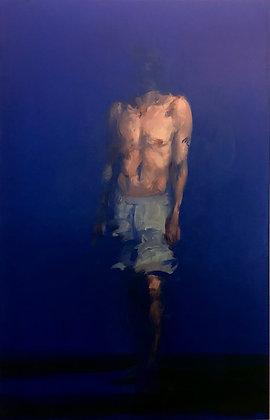 Xavier Jambon, l'homme bleu