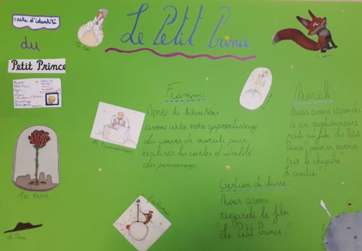 """Projet autour du """"Petit Prince"""""""